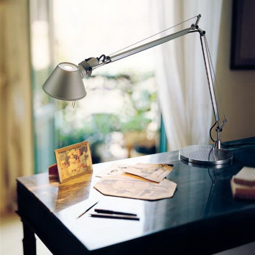 The Tolomeo LED from Artemide is an iconic fixture.