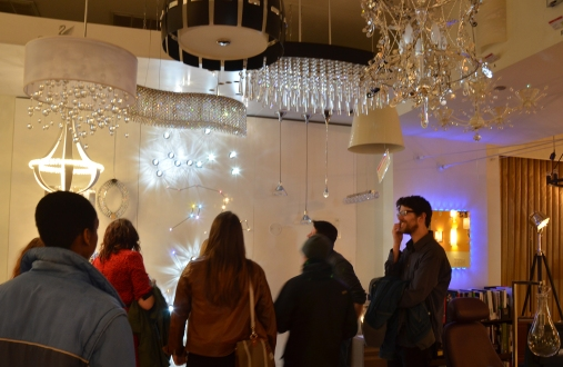 Global Classrooms Students Learn About Chandeliers at Lightology