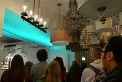 Global Classrooms Students Learn About Softline RGB LED at Lightology
