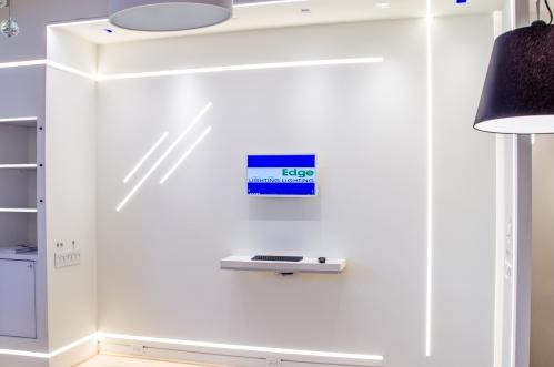 Pure Lighting | Tru Line 1.6 Plaster-In LED System | LFI 2013 Finalist: Indoor Decorative